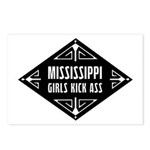 Mississippi Girls Kick Ass Postcards (Package of 8