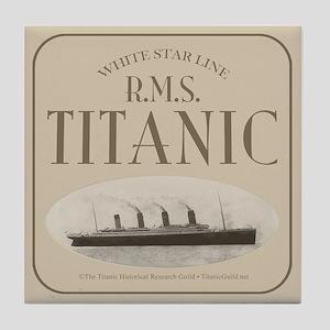 RMS TItanic Tile Coaster