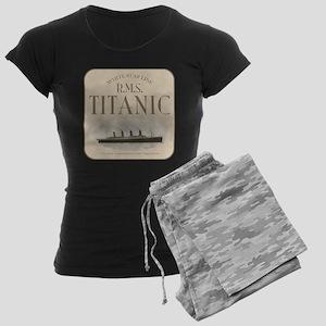 RMS TItanic Women's Dark Pajamas