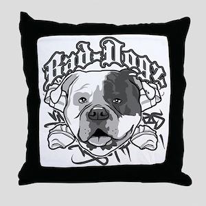 AMERICAN BULLDOG Throw Pillow