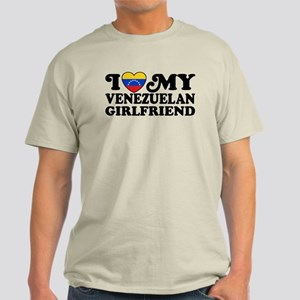 I Love My Venezuelan Girlfriend Light T-Shirt