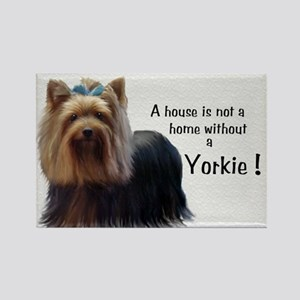 Yorkshire Terrier Rectangle Magnet