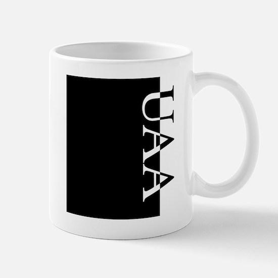 UAA Typography Mug
