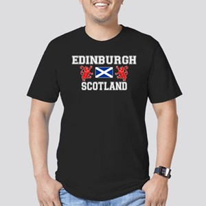 Edinburgh Men's Dark Fitted T-Shirt