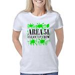 area51cleanupcrewblk Women's Classic T-Shirt