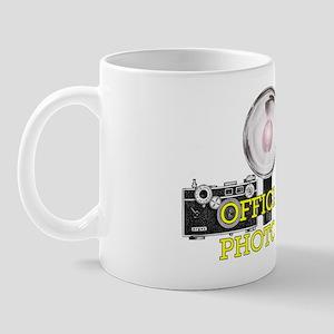 OFFICIAL PHOTOGRAPHER- Mug