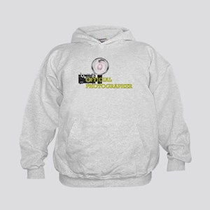 OFFICIAL PHOTOGRAPHER- Kids Hoodie