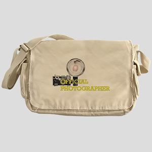 OFFICIAL PHOTOGRAPHER- Messenger Bag