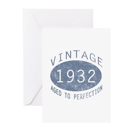 1932 Aged To Perfection Greeting Cards (Pk of 20)