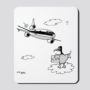Bird Hitchhiking South Mousepad
