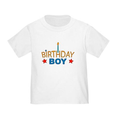 """Birthday Boy"" Toddler T-Shirt"