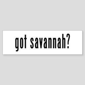 GOT SAVANNAH Sticker (Bumper)