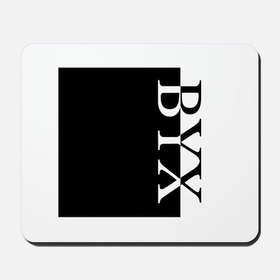 BYX Typography Mousepad