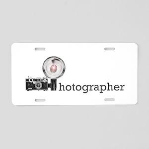 Photographer- Aluminum License Plate
