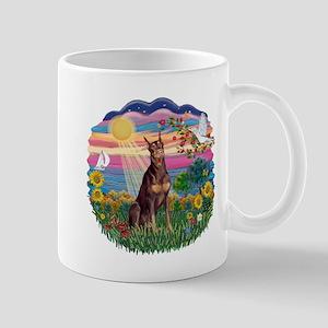 AutumnSun-Red Dobie Mug