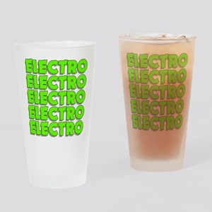 Electro Mad Drinking Glass