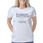 Happiness Comes in Waves Women's Classic T-Shirt