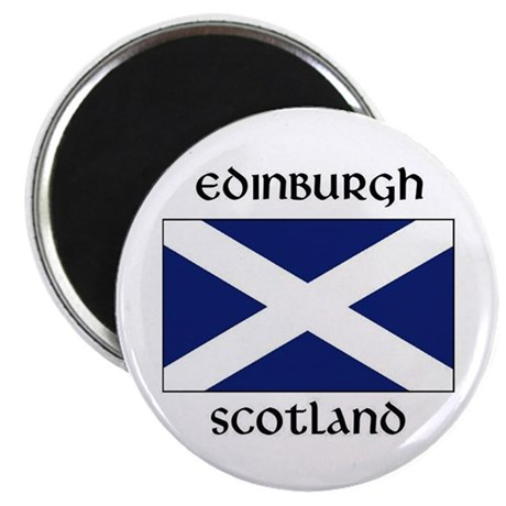 edinburghflag Magnets