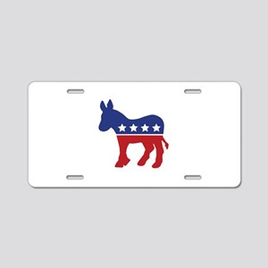 Democrat Donkey Aluminum License Plate