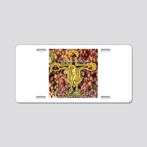 The Grapes of Wrath Aluminum License Plate