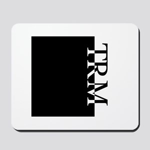 TRM Typography Mousepad