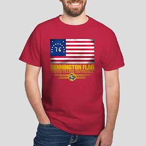 """""""Bennington Flag"""" Dark T-Shirt"""