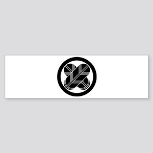 maru ni chigai takanoha Sticker (Bumper)