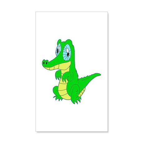 Crocodile 22x14 Wall Peel