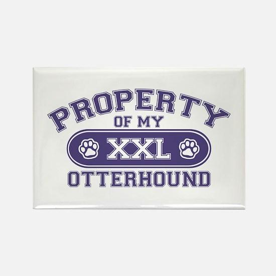 Otterhound PROPERTY Rectangle Magnet
