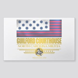 """Guilford Courthouse"" Sticker (Rectangle)"