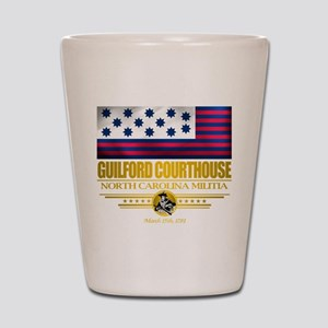 """""""Guilford Courthouse"""" Shot Glass"""