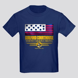 """Guilford Courthouse"" Kids Dark T-Shirt"