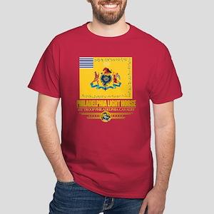 """""""Philadelphia Light Horse"""" Dark T-Shirt"""