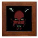 Devil Framed Tile