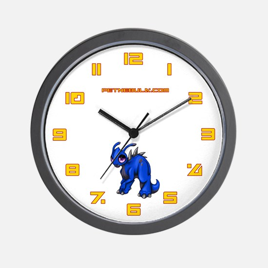 Blue Kronomantis Wall Clock