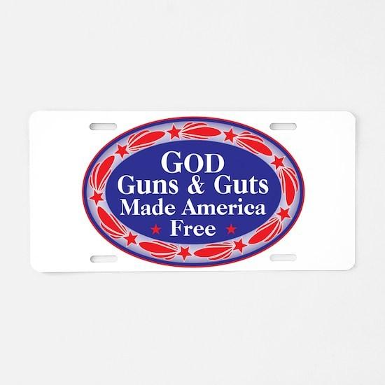 Cool Palin 2012 Aluminum License Plate