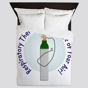 More Respiratory Therapy Queen Duvet