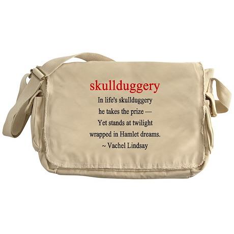 Skullduggery - Lindsay Messenger Bag