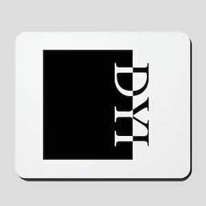 DYI Typography Mousepad