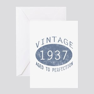 1937 Aged To Perfection Greeting Card