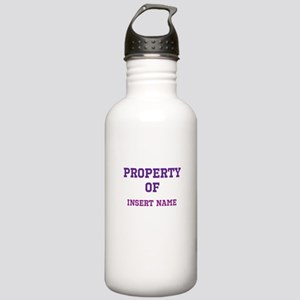 Customizable (Property Of) Stainless Water Bottle
