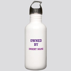 Customizable (Owned By) Stainless Water Bottle 1.0