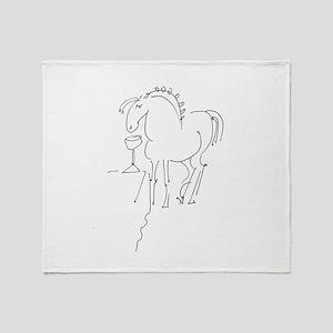Pony Buddy Throw Blanket