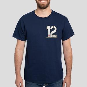 Alba gu Brath Football Dark T-Shirt