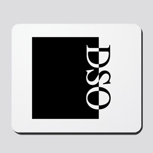 DSO Typography Mousepad