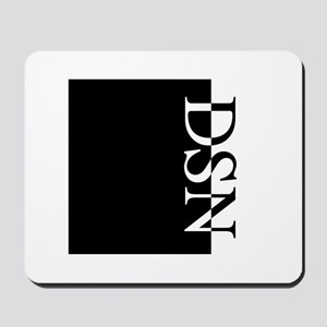 DSN Typography Mousepad