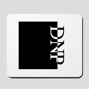 DNP Typography Mousepad