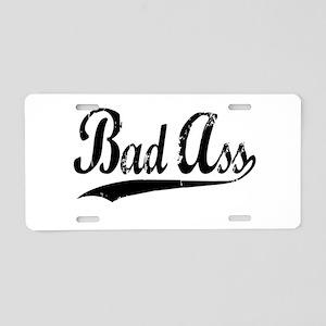 Bad Ass Aluminum License Plate