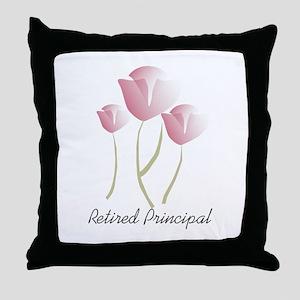 Retired Teacher IV Throw Pillow
