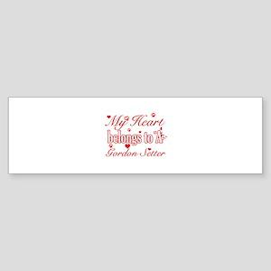 Gordon Setter Dog Designs Sticker (Bumper)